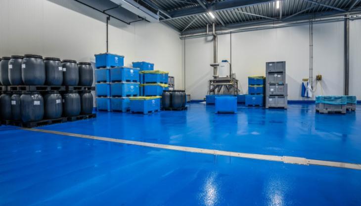 Ucrete DP10, een HACCP vloer én antislip vloer