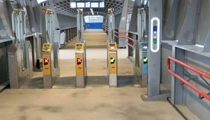 Ucrete BC4 DP10 antislip vloer op Station Amersfoort