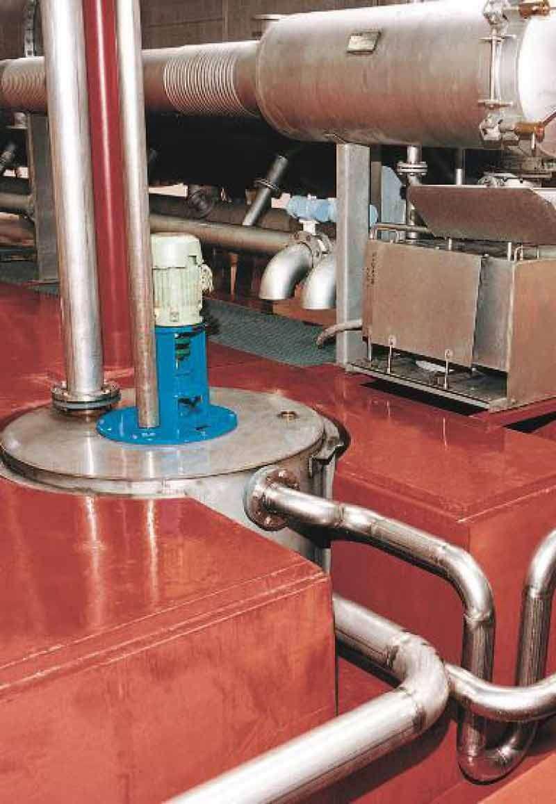 Ucrete is een chemisch resistente vloer