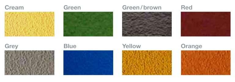 8 standaard kleuren Ucrete vloeren