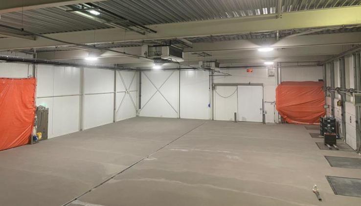 Renovatievloer gereed voor verdere opbouw