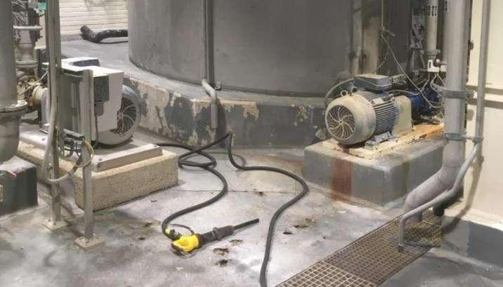 Ondergrondbehandeling bij renovatie vloer in de industrie