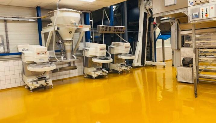 Renovatievloer met minimale downtime; bakkerijvloer snel operationeel