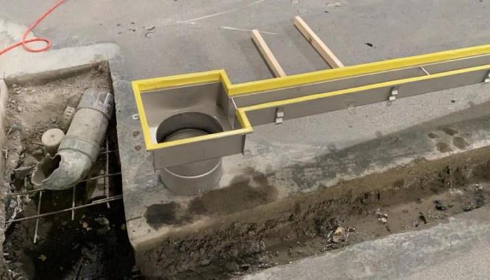 Renovatievloer inclusief aanpassing afwatering