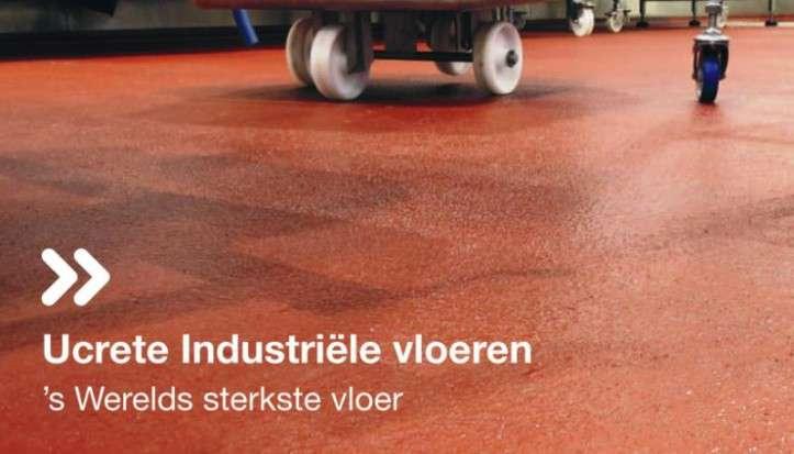 Omslag brochure Ucrete industrievloeren
