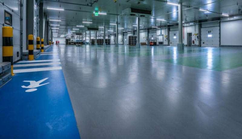 11000 m2 Ucrete MF voor BerryWorld in Made