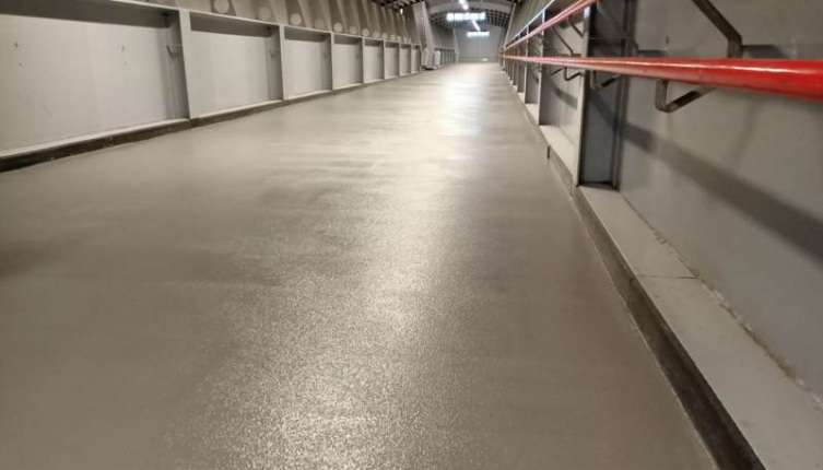 Vloer Station Amersfoort na renovatie