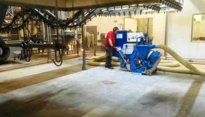 Ondergrondbehandeling voor renovatie vloer