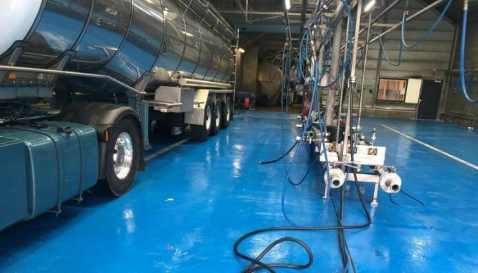 IJzersterke Ucrete vloeren voor wasstraten